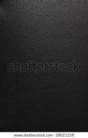 black leather texture can be used as background - stock photo