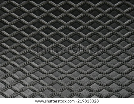 black leather texture for background - stock photo
