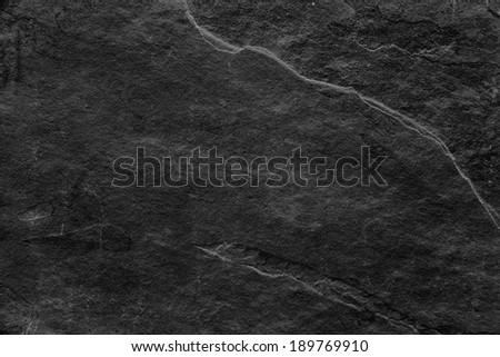 black limestone - stock photo