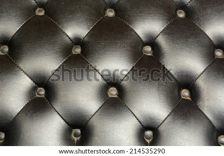 Black luxury old leather skin background - stock photo