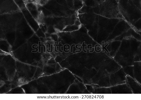 Black marble, marble pattern on a surface that looks natural - stock photo