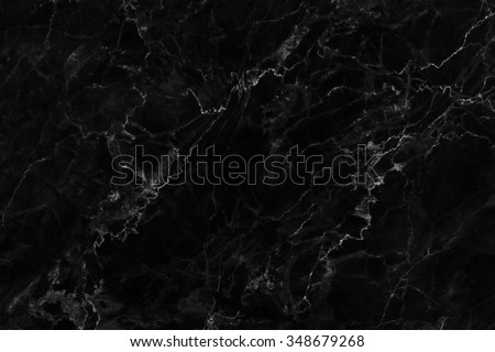Black marble natural pattern for background, abstract natural marble black and white  - stock photo