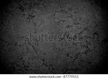 black marble stone - stock photo