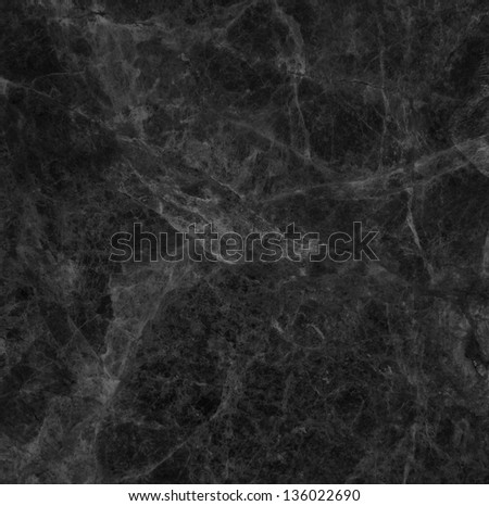 Black marble texture background. - stock photo