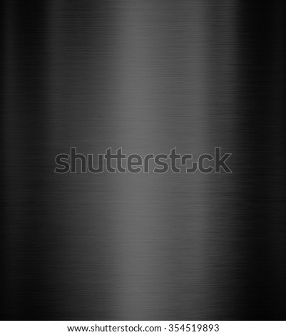 Black Metal background of brushed steel plate