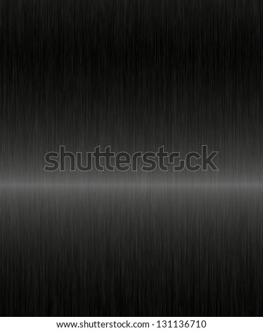 black metal illustration - stock photo