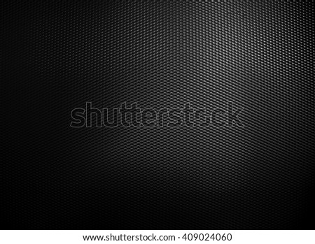 black metal mesh background - stock photo