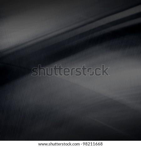 black metal plate - stock photo