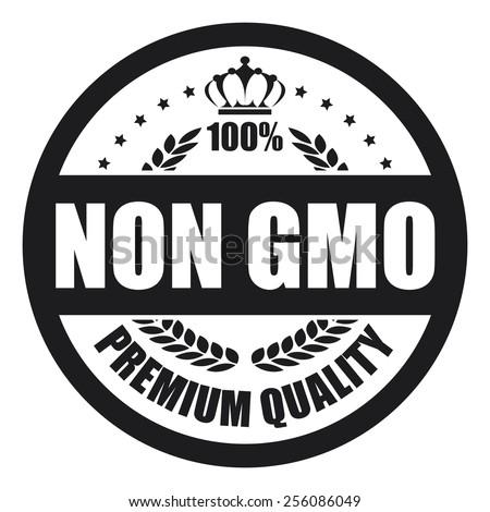 Black Non Gmo Premium Quality Button Stock Illustration 256086049