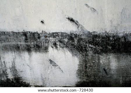 Black on white - stock photo