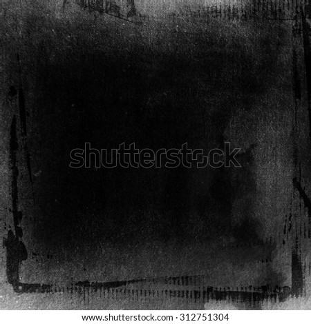 black paint grunge background  - stock photo