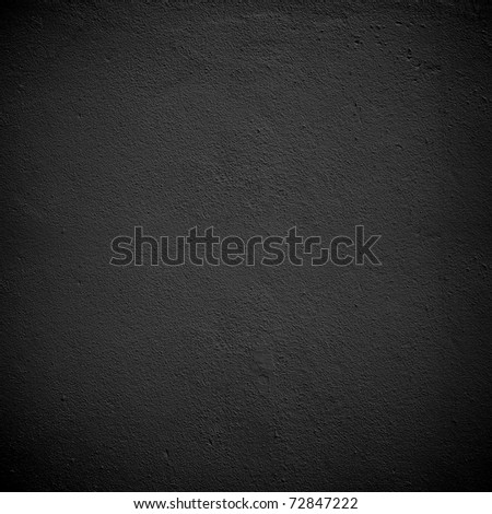 black paint wall - stock photo