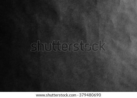 black paper background texture paper sheet horizontal - stock photo