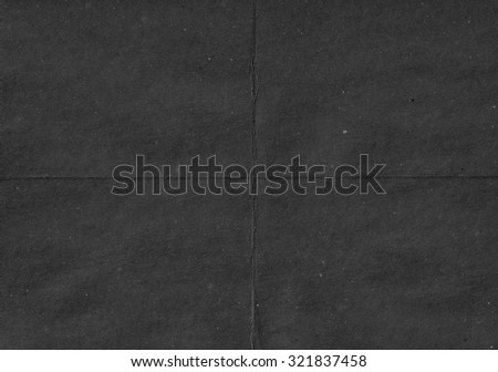 Black paper. Crumpled paper - stock photo