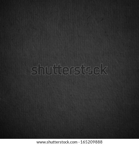 Black paper texture - stock photo