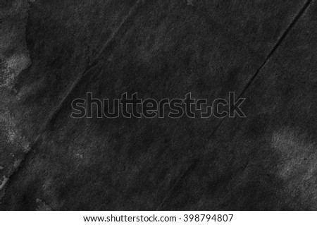 Black Paper Texture. Background