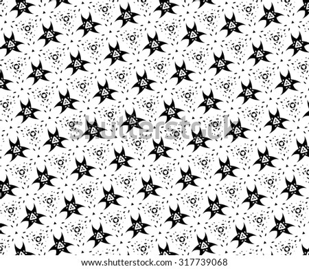 Black pattern on a white background. f