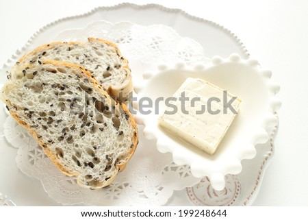 black pepper cream cheese