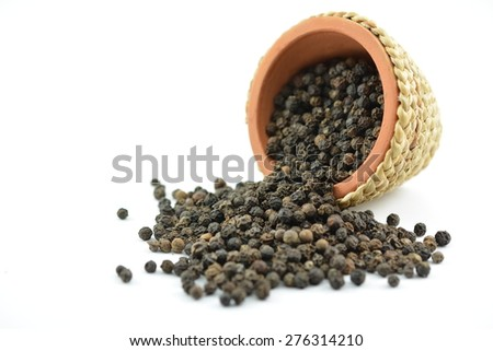 Black pepper is a flowering vine in the family Piperaceae, cultivated for its fruit, which is usually dried and used as a spice and seasoning.