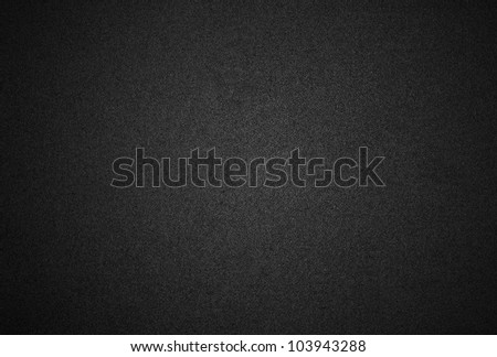 Black plastic texture or background - stock photo