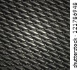black rubber texture - stock photo