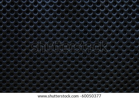 black rubber texture to use as background - stock photo