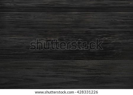 Black Rustic Wood Texture And Background