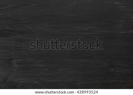 Black rustic wood texture and background. Black wood texture background. Rustic, old wooden background. Aged wood planks texture pattern. Wooden surface. Vertical image. - stock photo