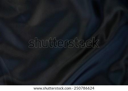 Black satin background - stock photo
