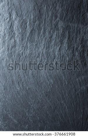 Black slate background. 50 megapixels photo - stock photo