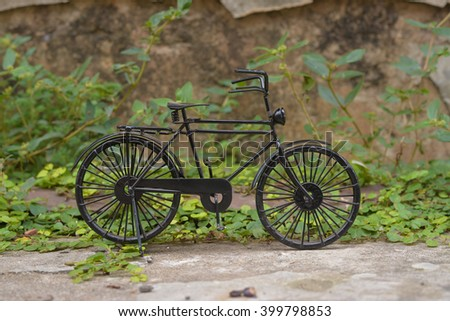 Black Small Bicycle