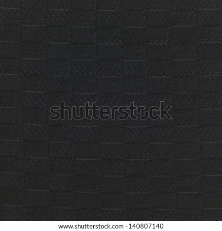 black squares fabric texture or background