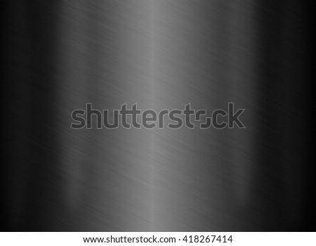 Black Steel light or background of metal