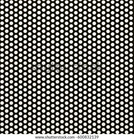 Black Steel Mesh Screen Background Seamless Stock Photo