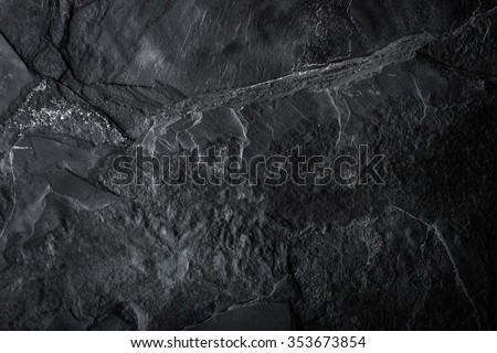 Black stone background - stock photo