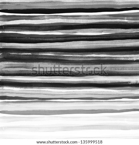 Black striped background on grunge paper texture - stock photo