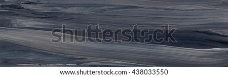 Black striped background on grunge paper texture. Abstract hand drawn watercolor background in black and grey, hand painted background. - stock photo