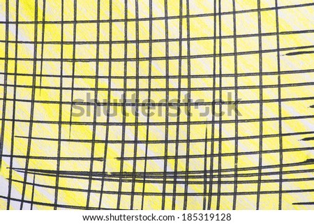 black striped yellow background texture