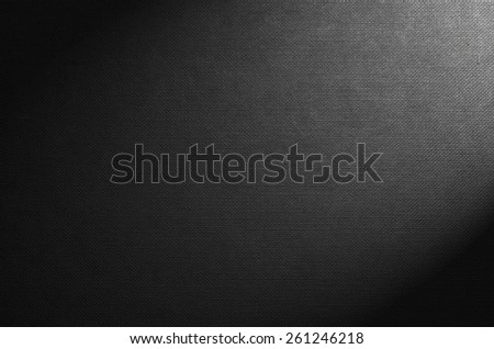 Black texture background - notepaper and envelopes texture - stock photo