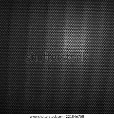 black texture of metal background - stock photo