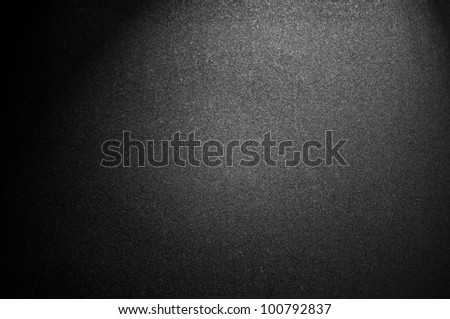 Black texture with spotlight