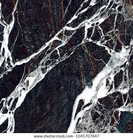 Black Vein Marble Background. (High Res.)