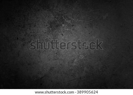 Black Wall Backdrop - stock photo