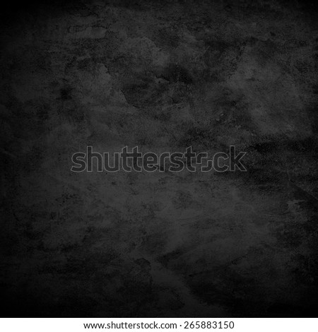 black wall background - stock photo