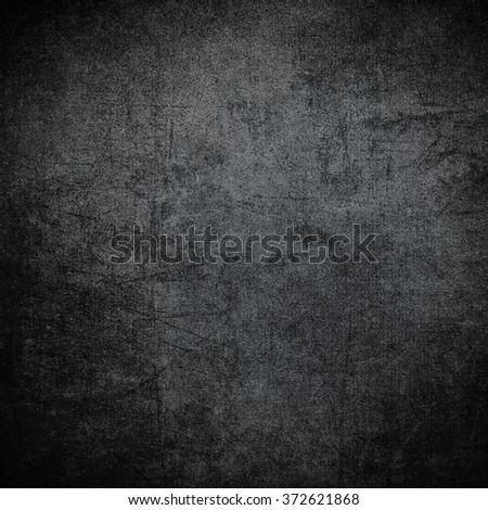 Black wall texture or background - stock photo