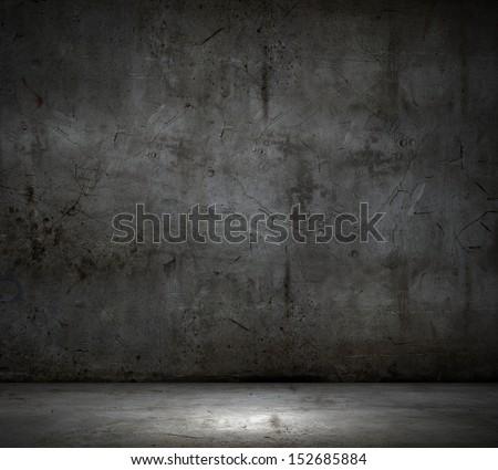 Black wall textured empty design. Background image - stock photo