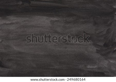 black watercolor background - stock photo