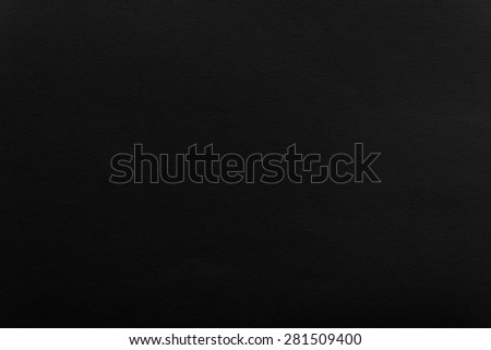 black watercolor paper, eggshell texture - stock photo