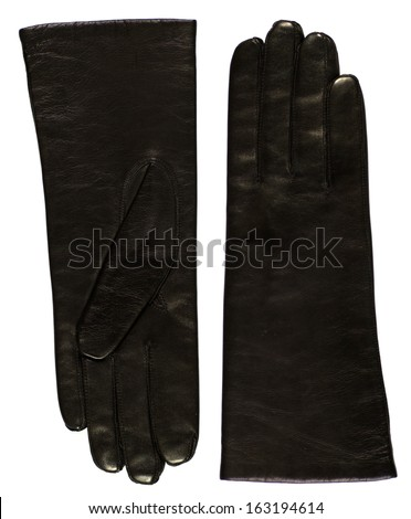 Black women gloves