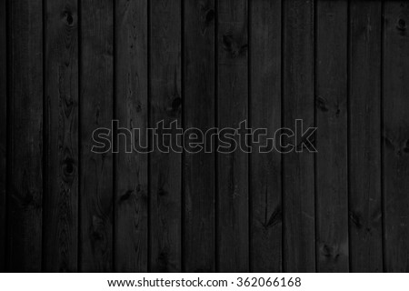 black wood background texture - stock photo